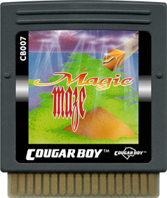 Magic Maze - Cart - Front