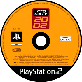 Pro Rally 2002 - Disc