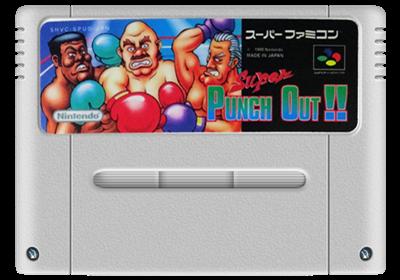 Super Punch-Out!! - Fanart - Cart - Front