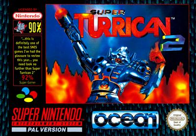 Super Turrican 2 - Box - Front