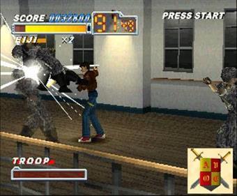 Crisis Beat - Screenshot - Gameplay