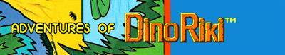 Adventures of Dino Riki - Banner