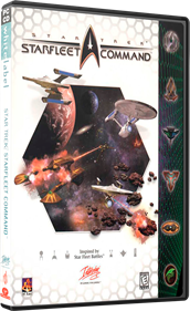 Star Trek: Starfleet Command - Box - 3D