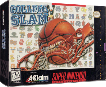 College Slam - Box - 3D