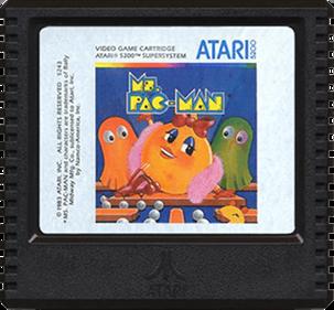 Ms. Pac-Man - Cart - Front