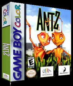 Antz - Box - 3D