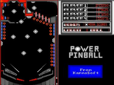 Power Pinball - Screenshot - Game Title