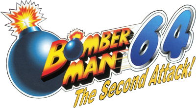 Bomberman 64: The Second Attack! - Clear Logo