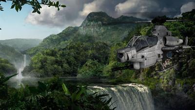 Choplifter III: Rescue-Survive - Fanart - Background