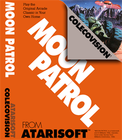Moon Patrol - Box - Front