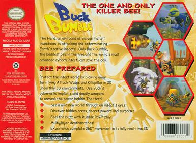 Buck Bumble - Box - Back