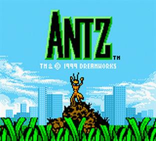Antz - Screenshot - Game Title
