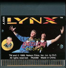 Bill & Ted's Excellent Adventure - Cart - Front