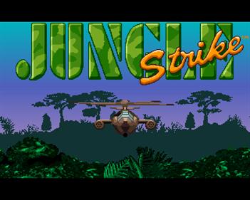 Jungle Strike - Screenshot - Game Title