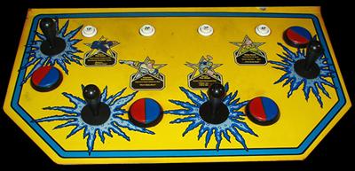 Captain Commando - Arcade - Control Panel