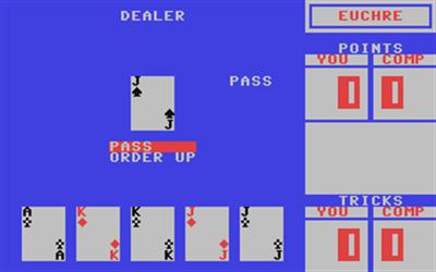 Euchre - Screenshot - Gameplay