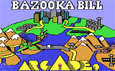 Bazooka Bill - Screenshot - Game Title