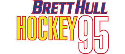 Brett Hull Hockey 95 - Clear Logo