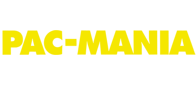 Pac-Mania - Clear Logo