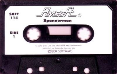Spanner Man  - Cart - Front