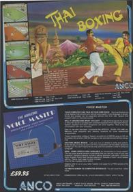 Thai Boxing - Advertisement Flyer - Front