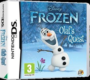 Disney Frozen: Olaf's Quest - Box - 3D