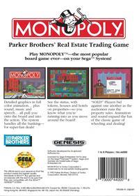 Monopoly - Box - Back