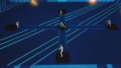 Tron: Deadly Discs - Fanart - Background
