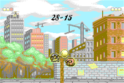 Volley for Two - Screenshot - Gameplay