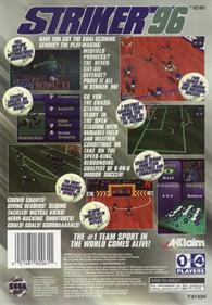 Striker '96 - Box - Back