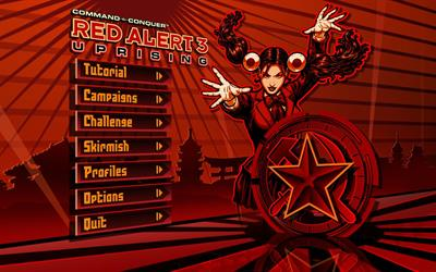 Command & Conquer: Red Alert 3: Uprising - Screenshot - Game Select