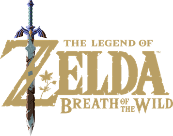 The Legend of Zelda: Breath of the Wild - Clear Logo