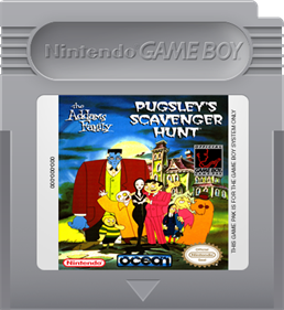 The Addams Family: Pugsley's Scavenger Hunt - Cart - Front