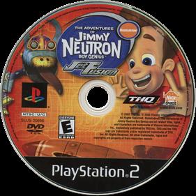 The Adventures of Jimmy Neutron: Boy Genius: Jet Fusion - Disc