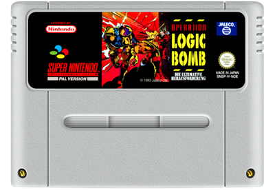 Operation Logic Bomb: The Ultimate Search & Destroy - Fanart - Cart - Front