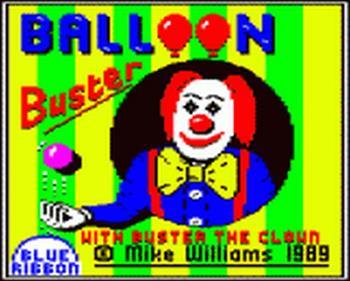 Balloon Buster - Screenshot - Game Title