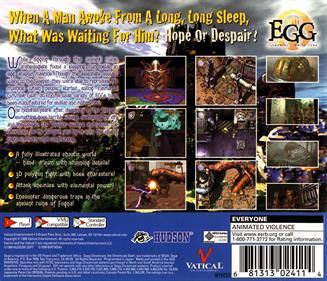 EGG: Elemental Gimmick Gear - Box - Back
