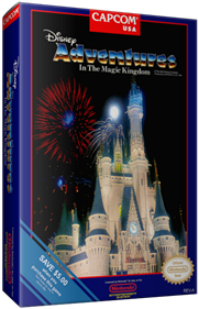 Adventures in the Magic Kingdom - Box - 3D