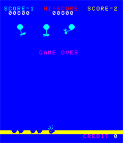 Balloon Bomber - Screenshot - Game Over
