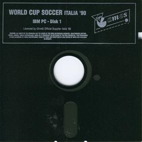 Rick Davis's World Trophy Soccer - Disc