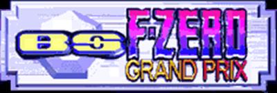 BS F-Zero Grand Prix - Clear Logo