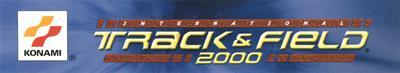 International Track & Field 2000 - Banner