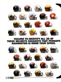 Bill Walsh College Football 95 - Advertisement Flyer - Front