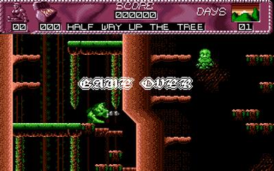 The Adventure of Norris - Screenshot - Game Over