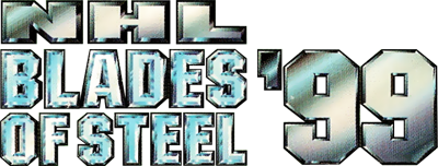 NHL Blades of Steel '99 - Clear Logo