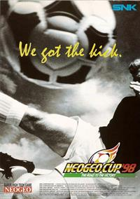 Neo Geo Cup '98: The Road to the Victory - Advertisement Flyer - Front