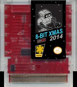 8-Bit XMAS 2014 - Cart - Front