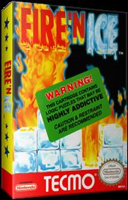 Fire 'n Ice - Box - 3D