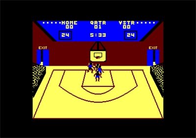 GBA Championship Basketball: Two-on-Two - Screenshot - Gameplay