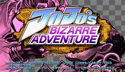 JoJo's Bizarre Adventure: Heritage for the Future - Screenshot - Game Title